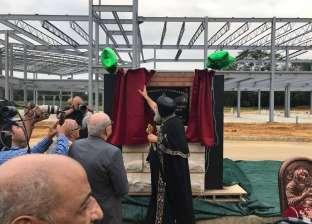 بالصور| البابا تواضروس يضع حجر أساس مقر بابوي جديد بأمريكا