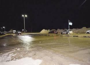 """""""الري"""": امتلاء البحيرات بألف متر مكعب من مياه السيول في سانت كاترين"""