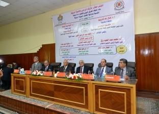 """افتتاح مؤتمر الإرشاد الزراعي والتنمية الريفية بـ""""زراعة المنصورة"""""""