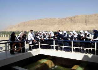 رحلة تعريفية لطلاب المدارس التجارية للتعرف على مراحل تنقية مياه الشرب بسوهاج