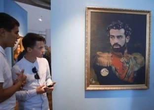 """محمد صلاح بجانب أساطير كرة القدم في """"سان بطرسبرج"""""""