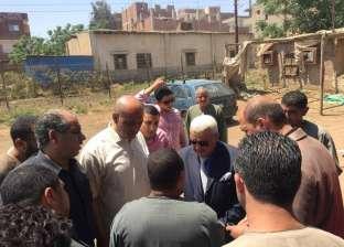 """سكرتير عام مساعد محافظة المنوفية يتفقد صوامع مدينتي """"تلا"""" و""""الشهداء"""""""