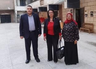 نائب رئيس جامعة أسيوط تتفقد دور الإقامة بالقاهرة لبحث سبل تطويرها