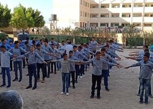صور.. انتظام التعليم في المعاهد الأزهرية بجنوب سيناء