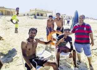 """طفل بدرجة """"منقذ"""": شجاعة """"أحمد"""" تنقذ 8 من الغرق"""
