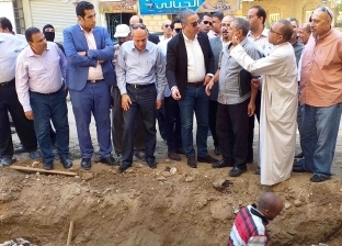 تخصيص5 ملايين جنيه لتجديد شبكات مياه الشرب بشارع الجمهورية بسوهاج