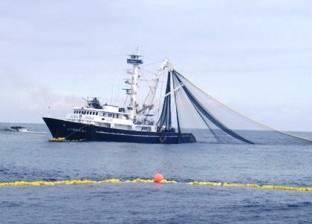 استئناف أعمال الصيد في بحيرة قارون بعد تحسن الأحوال الجوية