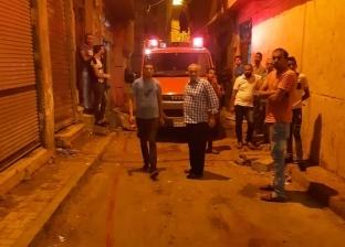 حريق يلتهم مخبزا و6 فروشات بسوق المعمورة شرق الإسكندرية