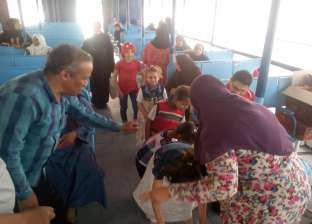 """""""شباب أسيوط"""" تنظم مهرجان ترفيهي لأطفال معهد جنوب مصر للأورام"""