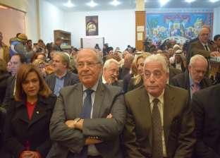 """""""فودة"""" في افتتاح مكتبة دير كاترين: """"شايفين الأمن والأمان بجنوب سيناء"""""""