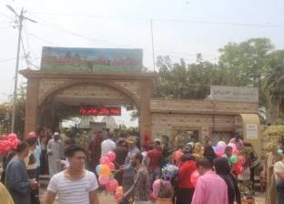 """مواطنون يقضون العيد في حدائق دسوق: """"العيد ضحكة"""""""
