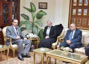 محافظ أسيوط يلتقي رئيس الهيئة القومية لضمان جودة التعليم