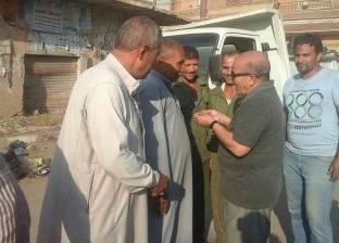 رئيس السنطة يوجه بردع التعديات على أراضي الدولة وحل مشكلات المواطنين