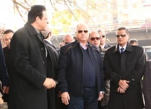 محافظ القاهرة يطالب بالانتهاء من أعمال تطوير كوبري السيدة عائشة