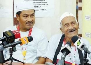 """""""رحلة العمر"""".. أكبر معمر ماليزي يؤدي مناسك الحج هذا العام"""