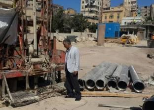 """""""الآثار"""": طلمبات إلكترونية و6 آبار لرفع المياه عن مقابر كوم الشقافة"""