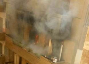 إصابة 3 عاملات بحالات اختناق في حريق مصنع بعرب العوامر بأسيوط
