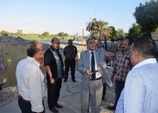 استغلال أرض المشتل بمساحة فدنين بكورنيش المنيا في مشروعات سياحية