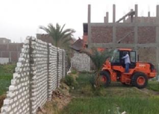 إزالة 35 حالة تعد على أراضي أملاك الدولة في إدفو ونصر النوبة