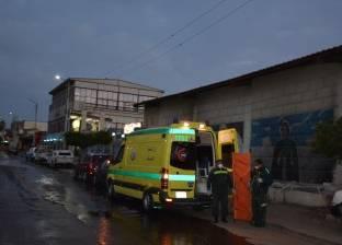 """""""طرق المنيا"""": أمطار غزيرة دون سقوط سيول"""