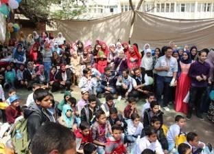 كلية التمريض بجامعة المنصورة تحتفل بيوم اليتيم بحضور 50 طفلا