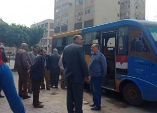 محافظة القليوبية توفر أتوبيسات لنقل الناخبين للجان الاستفتاء