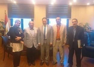 النبراوي يناقش أوضاع مهندسي القطاع الطبي مع وزير الصحة
