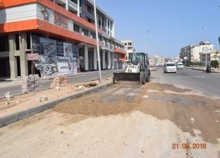 محافظ البحر الأحمر يطالب بإنهاء أعمال النظافة بطريق النصر بالغردقة