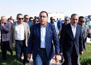 زيارة رئيس الوزراء لمحافظة أسيوط لتفقد عدد من المشروعات التنموية