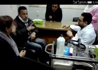 إتاحة مترجمة لغة إشارة للمرضى من الصم والبكم بمستشفى بني سويف الجامعي
