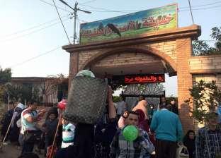 توافد المئات على حديقة الأسرة والطفولة بدسوق للاحتفال بشم النسيم