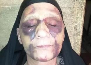 شاب يلقن أمه «علقة موت» ويطردها من بيتها طمعا في معاشها