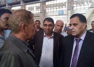 رئيس هيئة السكة الحديد يتفقد الورش الرئيسية للتجهيز وتشغيل القطارات