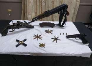 ضبط 7 أسلحة نارية بدون ترخيص خلال حملة أمنية في الإسكندرية