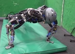 بالفيديو| روبوت ياباني يؤدي التمارين الرياضية ويتعرّق مثل البشر