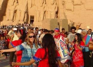 """احتفالية لدعم السياحة الثقافية بـ""""أبوسمبل"""" بحضور زعزوع والدماطي ومغازي"""