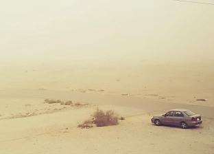 مدن جنوب سيناء تتعرض لعاصفة رملية