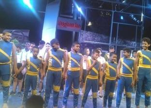 """عرض مسرحي بعنوان """"طيارة ورق"""" لتنمية مواهب أطفال بلا مأوى بالإسكندرية"""