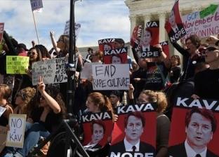 الشرطة الأمريكية تعتقل متظاهرين قبل التصويت على تعيين كافانو