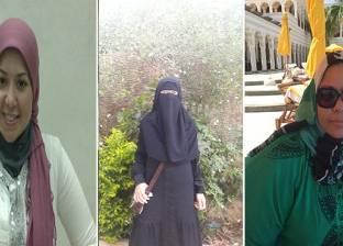 3 بنات تركن كليات القمة واشتغلن فى التجارة: «ولاء» حلوانية.. و«وسام» و«دعاء» بائعتان