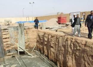 بالصور  إنشاء مبنى إداري جديد لإدارة الحماية المدنية بمدينة أبورديس