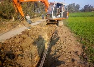 رئيس السنطة يوجه بإيقاف أعمال حفر مخالفة بأراضي الدولة