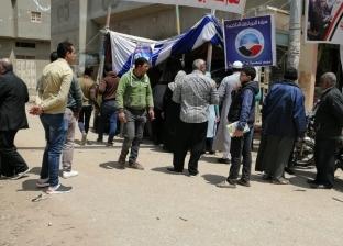 أهالي البصارطة بدمياط يتحدون الإرهاب ويشاركون بالاستفتاء