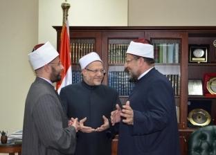 المفتي ووزير الأوقاف والأزهري يشيدون بكلمة أحمد الطيب في مؤتمر الأخوة