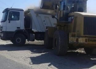 رفع 300 طن قمامة ومخلفات في مركز أبوتشت بقنا