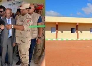 افتتاح 6 مدارس جديدة بالجهود الذاتية لخدمة أبناء شمال وجنوب سيناء