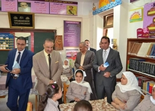 نائب وزير التعليم يقرر منح مدير مدرسة في بني سويف شهر مكافأة