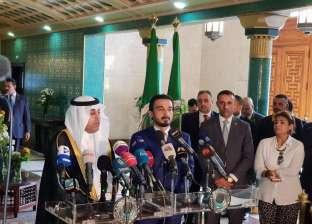 """رئيسا البرلمان العربي والعراقي يتفقان على دعم بغداد في """"إعادة الإعمار"""""""