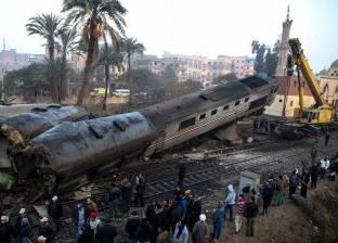 """""""أتوبيسات النقل البري"""" تنقل ركاب القطارات من القاهرة إلى الإسكندرية"""