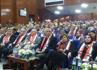 رئيس جامعة المنوفية يشهد فعاليات المؤتمر الدولي لتطوير التعليم ببنها